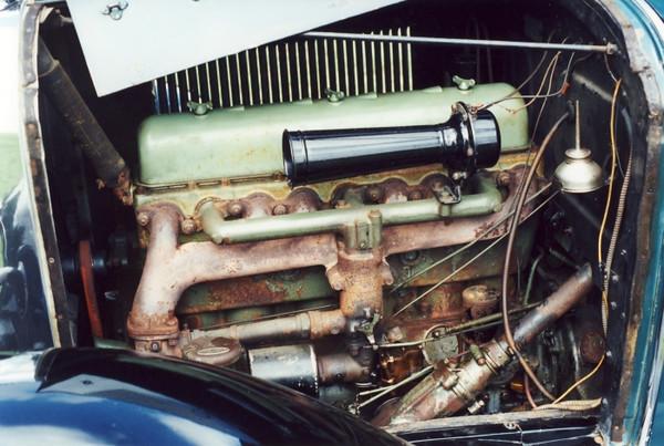 29-27 - Original car / engine colour