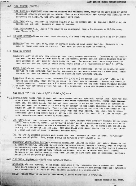 USA - Pg. 4 - Export Information (from GM Export - General Sales Dept. / Service Division) 2nd Release - Oct. 12, 1928