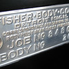 USA:  Fisher Body Build tag (on firewall).  Used on all closed body & 54CC cars (From a model 54CC)