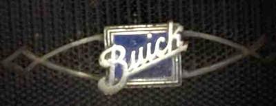 Radiator badge from an original 29-27.  Note Medium Blue Colour.