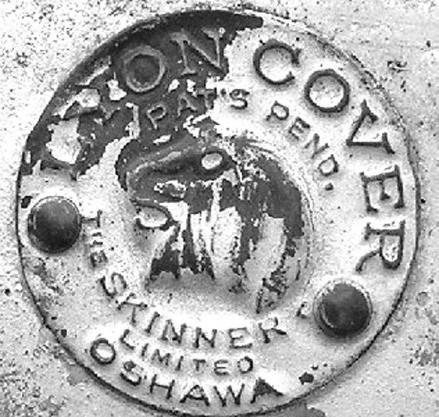 Canadian 29-51 metal sidemount ID badge