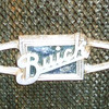 Radiator bow-tie badge (from an original car - showing the original blue paint)