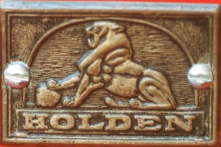 Australia - Holden Body Tag