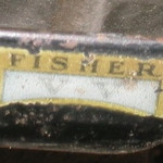 Fisher Bodied (Closed) car) Front liftable window ventilation sticker