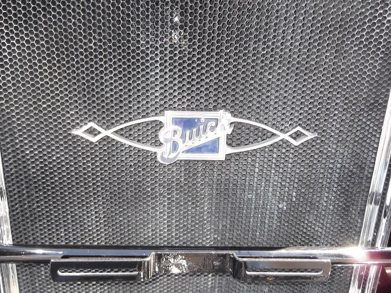 USA Radiator Badge on Gary Hertzler's 29-27.  (Restored)