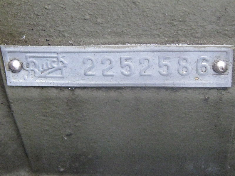 Riveted Engine Number Tag (from Bob Lindsten's 29-57)