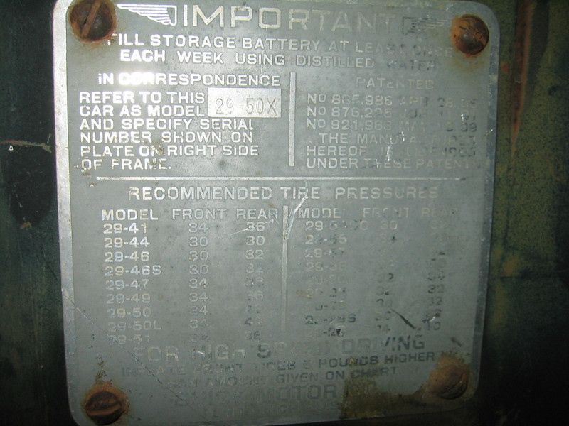 USA - Export Model ID plate (Australia)