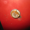 29-44 (roadster) golf club door lock.  Note: cover over key-way