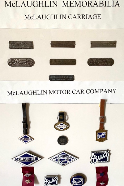 McLaughlin Memorabilia.  From circa 1880 - 1935.