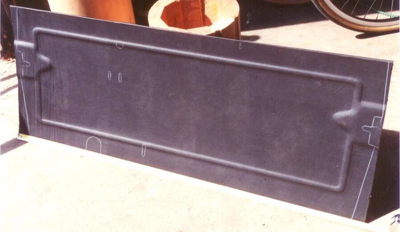 Master Kick-Board - under dash next to firewall (repro)