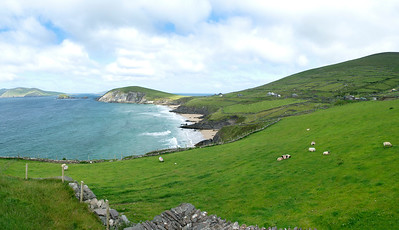 Slea Head and Blasket Islands, Dingle Peninsular, County Kerry, Ireland