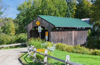 Church Street Covered Bridge, Waterville, Vermont