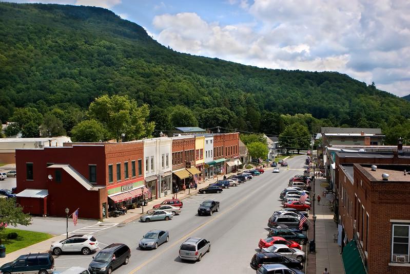Bristol Main Street, Vermont