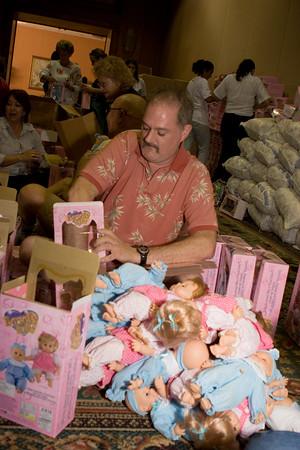 Toys for Tots in Puerto Vallarta, Mexico - 2007