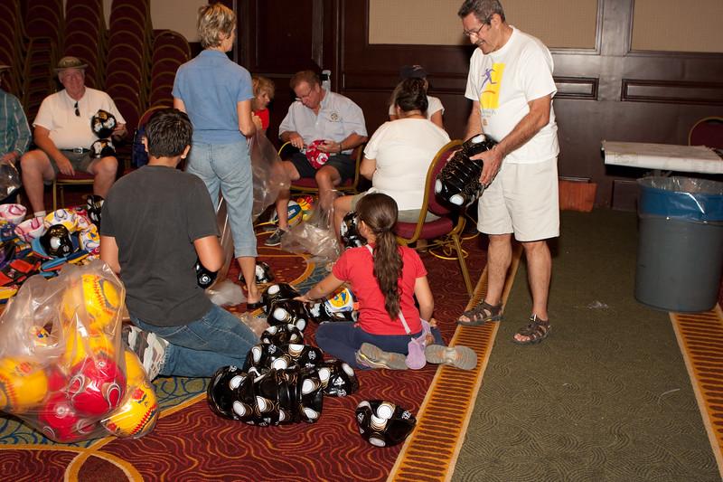 Toys for Tots in Puerto Vallarta, Mexico - 2009