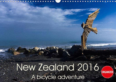 New Zealand Calendar with planner