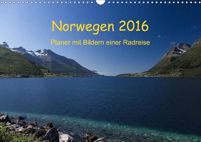 Norwegen Kalender mit Planer