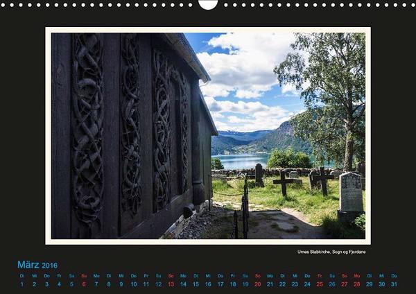 Urnes Stabkirche - März Vorschaubild