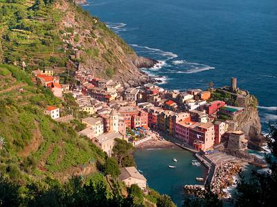 Vernazza from Sentiero al Mare, Cinque Terre, Italy