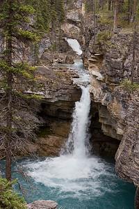 Stanley Falls, Jasper Canadian National Park, Alberta, Canada