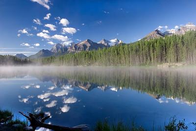 Herbert Lake, Banff Canadian National Park, Alberta, Canada