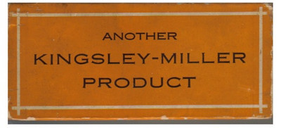 Kingsley-Miller after-market radiator cap - box info