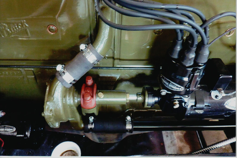 29-50 During Restoration: Generator, Distributor, Water pump rebuilt