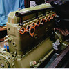 29-50 During Restoration:  Engine painted