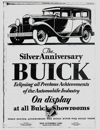 29-50 During Restoration:  Original Newspaper ad from Syracuse
