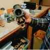 29-50 During Restoration:  Marvel Carburetor rebuilt