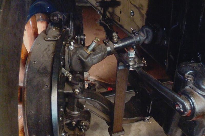 29-50 During Restoration:  All linkage refurbished