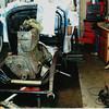 29-50 During Restoration:  Engine stripped