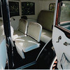 29-50 Pre-Restoration:  Interior with white vinyl added in the 1970s for use as a wedding car
