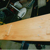 29-50 During Restoration:  New oak Running boards