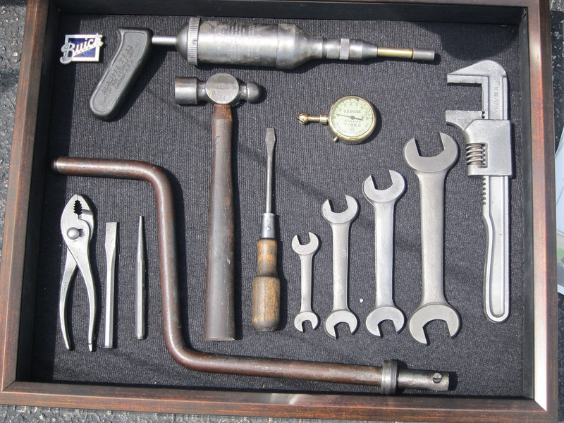 Tools found in a 1929 Model 50
