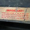 Underseat label