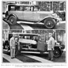 '29 Buick 50 ambulance conversion in LA.  Note the after-market Buick trunk rack.