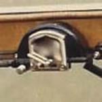 29-45CC - close-up of windshield wiper motor