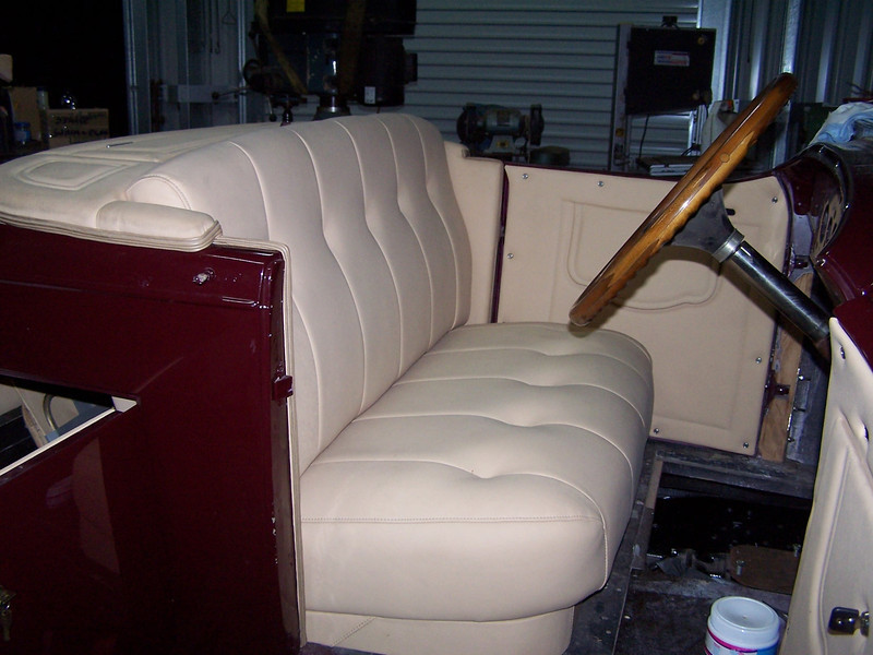 29-44X - Restoration Upholstery - front compartment