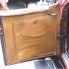 "Roadster (29-44) Drivers Door Compartment (closed).  Flap is 19"" wide x 19&1/4"" deep"