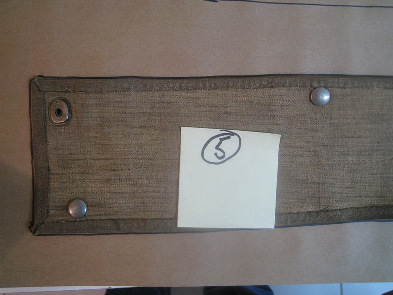 29-44 - Side Curtains:  left side top, from inside, left side (note:  may have extra snaps)