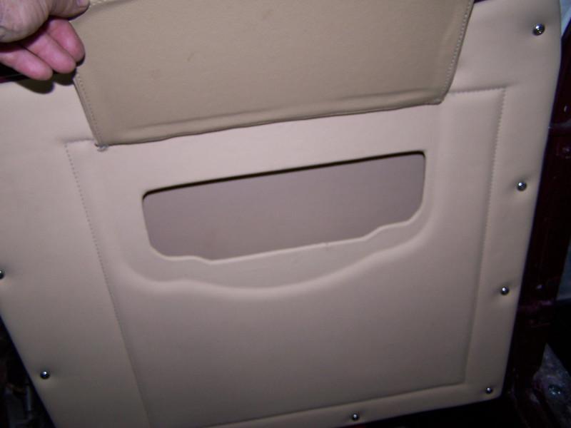 29-44X - Restoration Upholstery - Passenger side door pocket