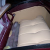 29-44X - Restoration Upholstery - Rumble seat lower cushion