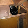 29-44 - Side Curtain Box behind seat from inside rumble seat - right side
