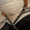 Roadster (44) left side top bows / bracketry