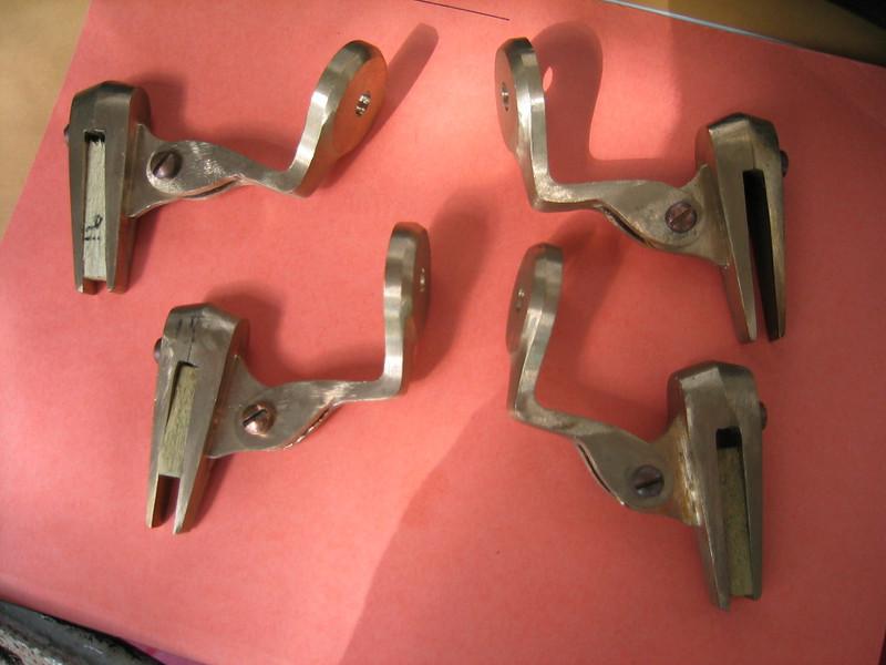 Open car repro windwing brackets