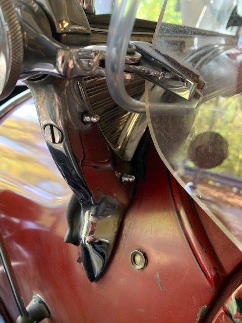 Open Car W/S Wiper Vacuum Line routing (from model 29-44).