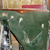 29-51 - McLaughlin Buick - original green mohair upholstery.  (Note original, unfaded dark green colour.)