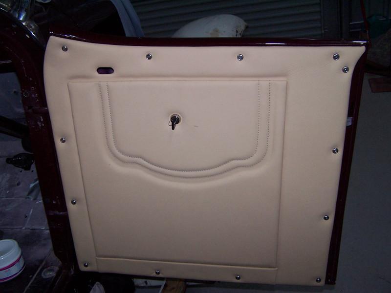 29-44X - Restoration Upholstery - Drivers side door pocket