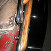 Roadster (44) left side top bows / bracketry